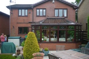 Conservatory replaced with brand new orangery