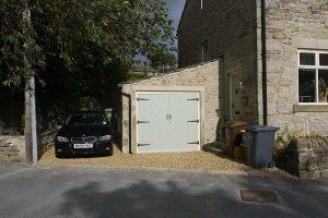 Garage extension installation