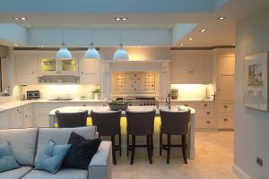 Kitchen diner in one of our extensions