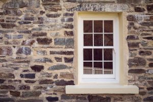 Timber sliding sash window installed into a traditional style property