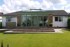 Summer orangery in Chartwell green